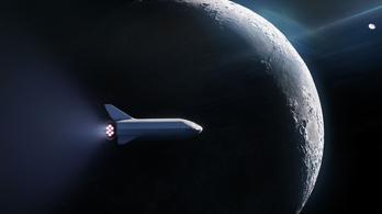 Valakit körbevisz a Hold körül a SpaceX