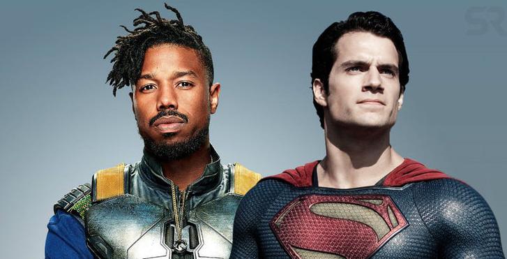Michael-B-Jordan-Henry-Cavill-Superman