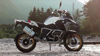 Videón a változó szelepvezérléses BMW R 1200 GS