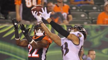 Hiába a hihetetlen touchdown, kikapott a Ravens