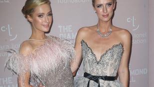 Paris és Nicky Hilton úgy néznek ki, mint egymás viaszszobrai
