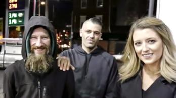 A kedves és segítőkész pár 400.000 dollárt gyűjtött össze egy rászoruló hajléktalannak, majd eltűntek a pénzzel