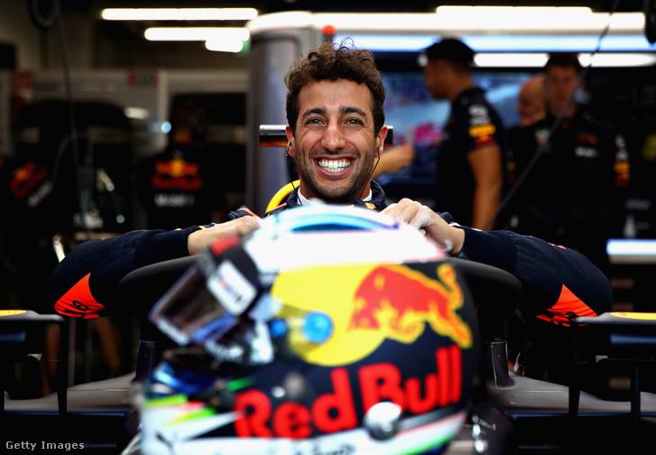 Daniel Ricciardo Szingapúrban 2018.09.14.