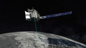 Lézerrel lőnek a Földre a NASA műholdjai