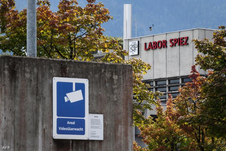 A svájci laboratórium Spiezben