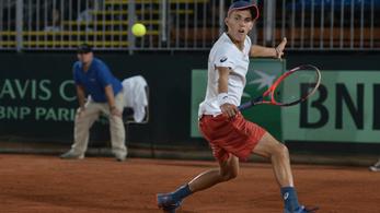 Piros Zsombor írta tovább a magyar teniszcsodát