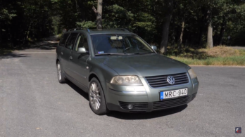 Használtteszt: Volkswagen Passat W8 - 2001.