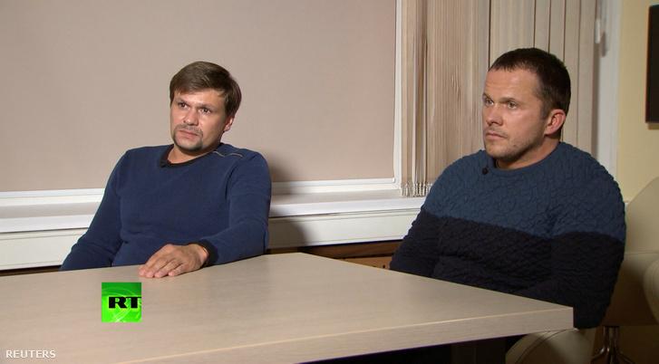 Állítólag ők, Alekszandr Petrov és Ruszlán Bosirov, az ügy gyanúsítottjai