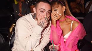 Ariana Grande megtörte a hallgatását exe, Mac Miller, halálával kapcsolatban