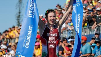 Lehmann Csongor a triatlon junior világbajnoka