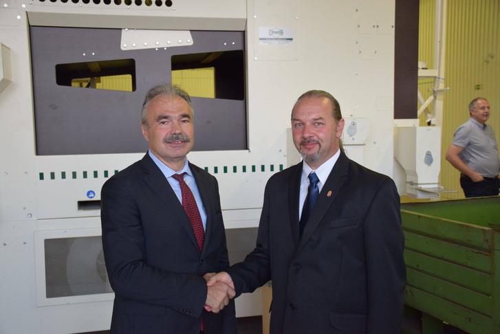 Nagy István agrárminiszter és Szőke Zoltán