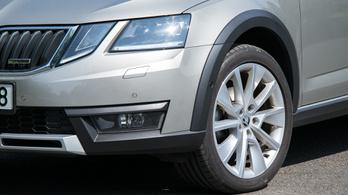 Teszt: Škoda Octavia Scout 2.0 TDI - 2018.