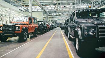 Jönnek a hibrid Land Rover Defenderek