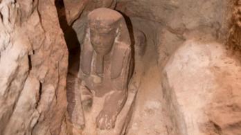 Újabb szfinxre bukkantak régészek Egyiptomban