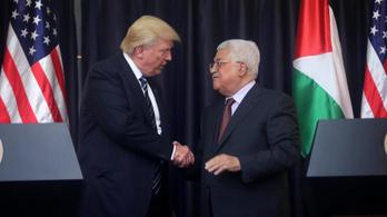 Washington visszavonta a palesztin nagykövet családjának vízumát
