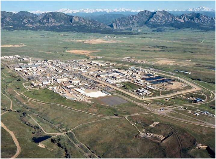 1995-ös légifelvétel a gyárról