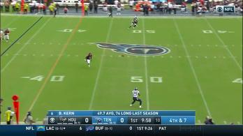 Két védő csinálta meg az NFL legnagyobb szívatását, 66 yardos TD-t ért