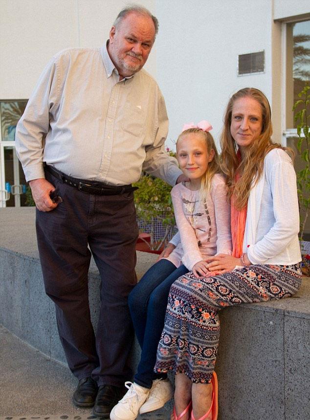 Thomas, Lori és a kis Jocelyn.