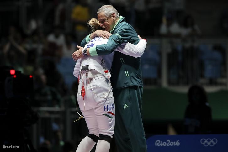 Szász Emese és Kulcsár Győző a riói olimpián