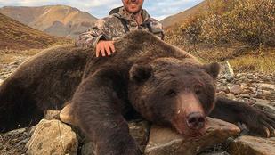 Halálos fenyegetéseket kap a volt hokis, aki levadászott grizzlyvel dicsekedett
