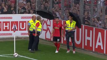 Nem egy szokványos hazai szöglet készül a Bundesligában