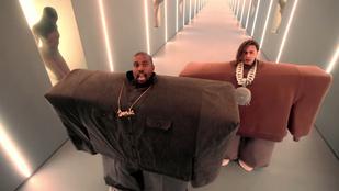 Kanye West rendezte a Pornhub-gálát, ahol bemutatta extratrágár új számát