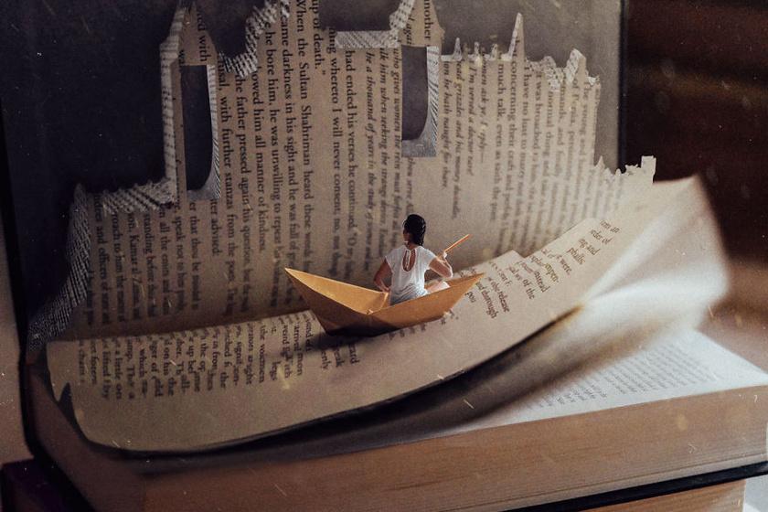 olvasás könyv élmény