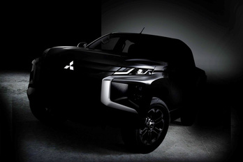 Megvillan az új Mitsubishi L200