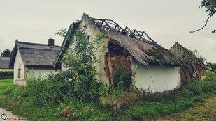 Elhagyatott borospincék Buzsákon