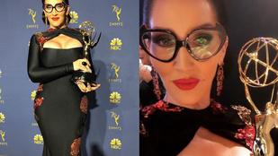Michelle Visage dekoltázsa mérföldkő volt, nemcsak az Emmyk történetében