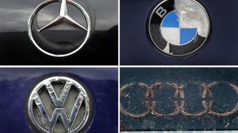 Kartellgyanú német autógyárak ellen