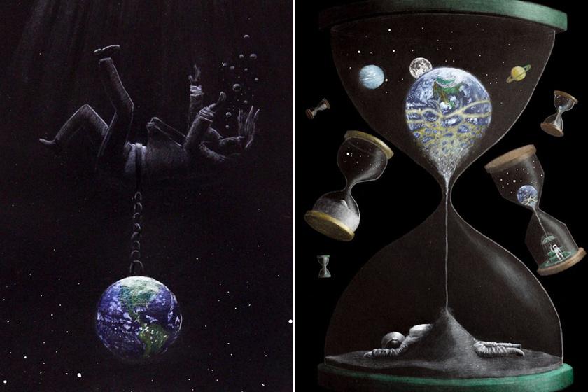Pár rajz mindent elmond a depresszióról: az űrhajós embert figyeld a képen!