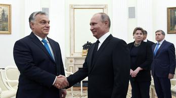 Orbán azt kívánta Putyinnak, vezesse tovább az orosz népet