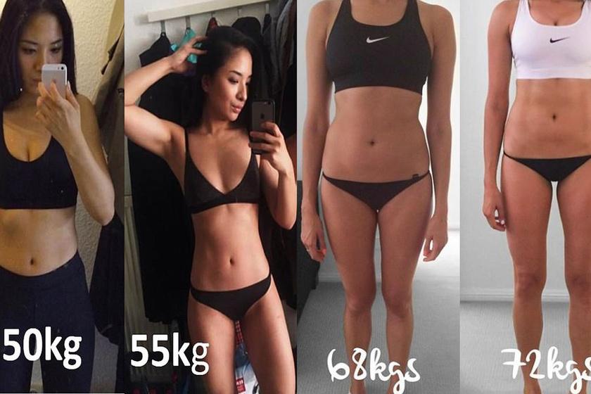 10 kilót hízott, most sokkal jobban néz ki: ennyi múlik azon, mennyi izom van az ember testén