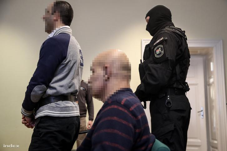 Ahmed H. tárgyalása a Szegedi Törvényszéken 2018. március 14-én.