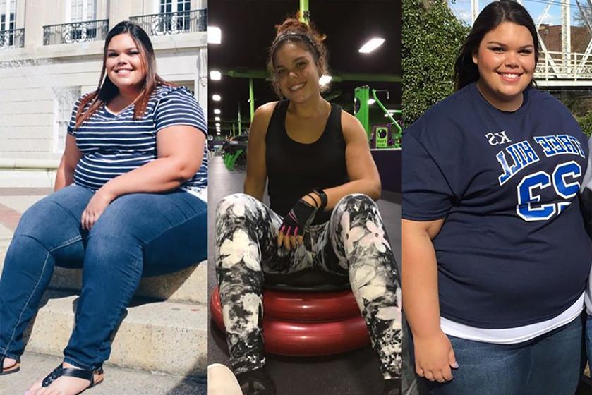 80 kilót adott le, de ugyanaz az ember maradt: a 19 éves lány 2 év kemény munkával szabadult meg a túlsúlyától