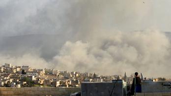 A szíriai fronton már állnak a bitófák