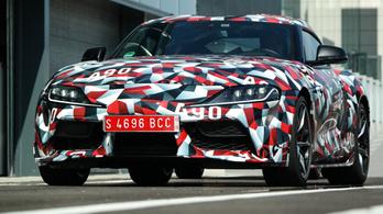 Bemutató: Toyota Supra A90 prototípus – 2019.