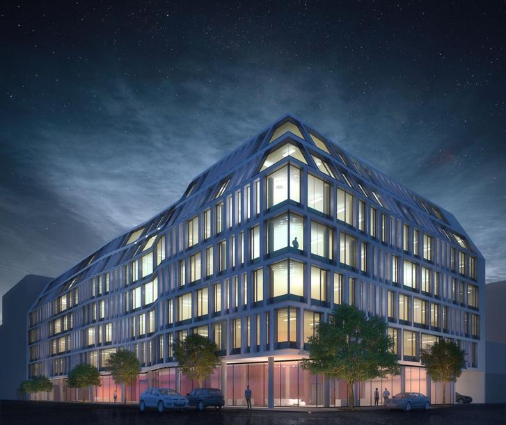 A Lab5 korábbi terve az épületre