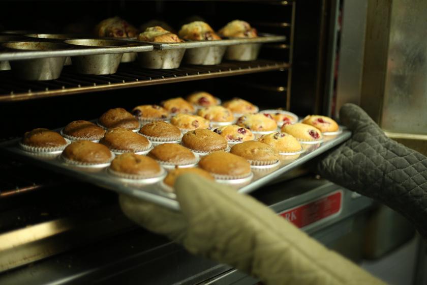 sütés sütőkesztyű süteméyn