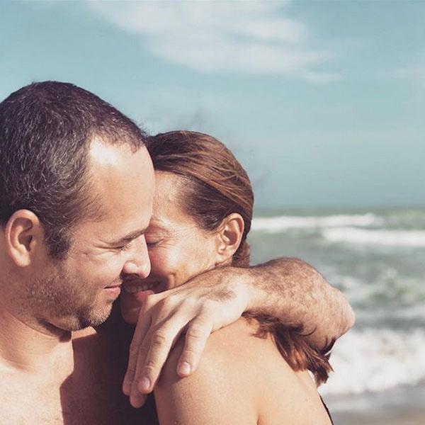 Harmónia a tengerparton: Epres Panni és Benedek Tibor Floridában pihentek.