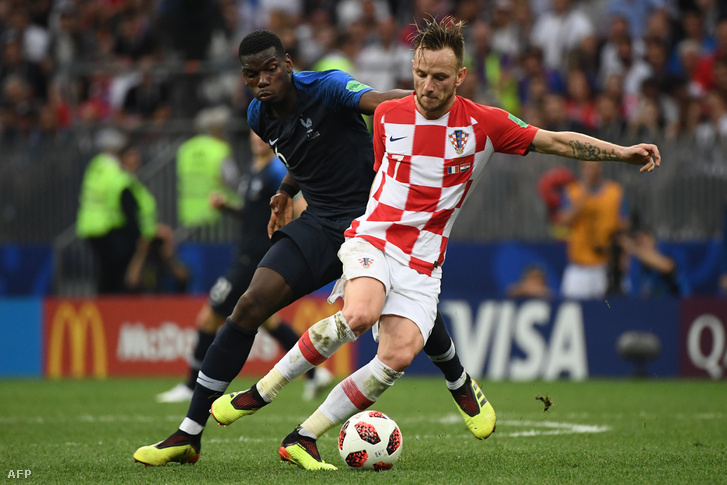 A Barca horvát légiósa, Ivan Rakitic a világbajnokságon