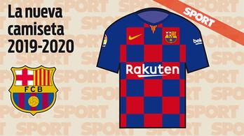 Horvátkockás hazai Barca-mez jön