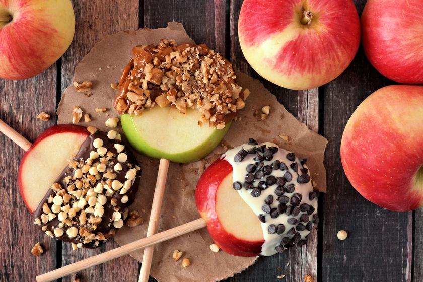 Almás-csokis nass egyszerűen: ezt minden gyerek szívesen megeszi