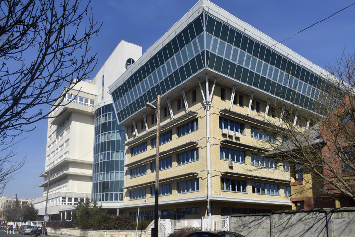 A Gottsegen György Országos Kardiológiai Intézet Gyermekszív központ a IX. kerület Fehér Holló utcában.