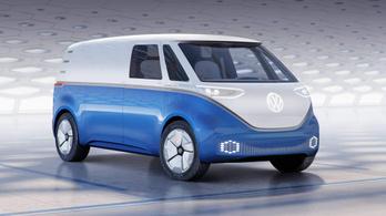 Furgonként tér vissza a VW retro-kisbusza