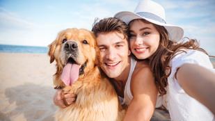 A kutyások boldogabbak, többet mozognak és jobban is keresnek