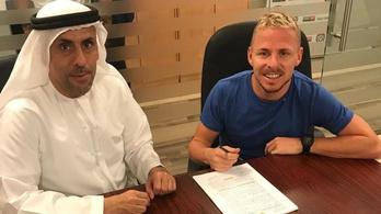 Dzsudzsák Balázs ismét az araboknál futballozik