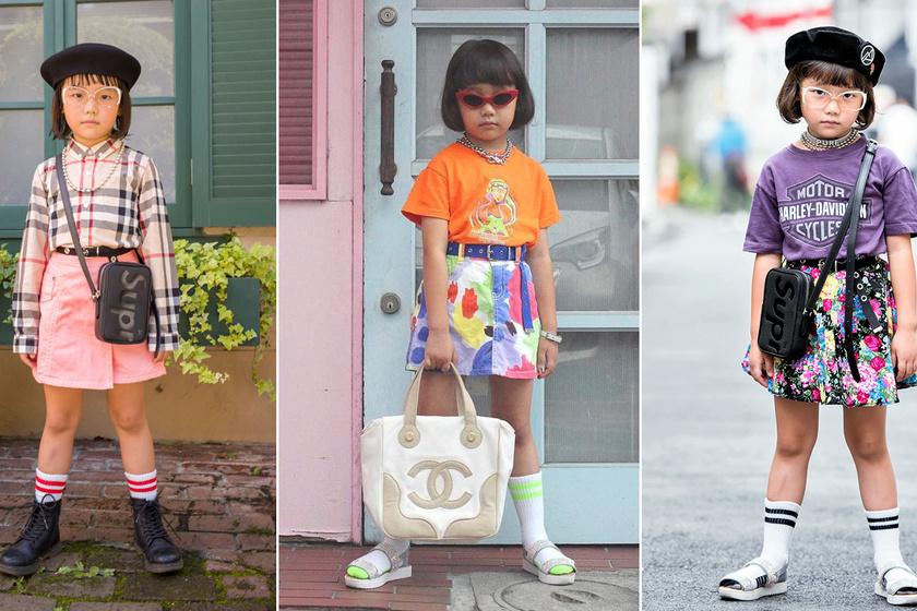 A 7 éves kislány jobban öltözködik, mint sok felnőtt - Nem az anyukája választja ki a ruháit