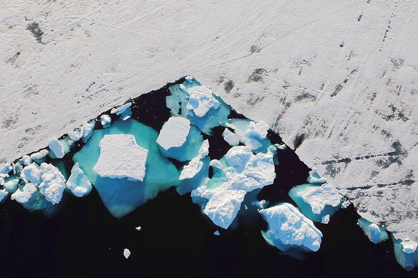 Félelmetes jelenségre bukkantak a kutatók Grönlandon: nem sok jót jelez előre